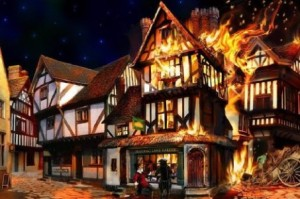 See how the Great Fire spread