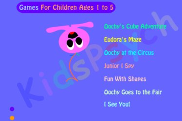 KidsPsych games for foundation stage