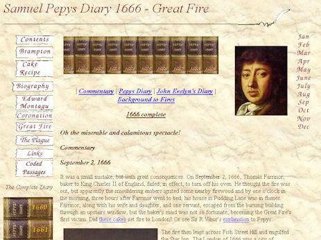 Samuel Pepys's diary