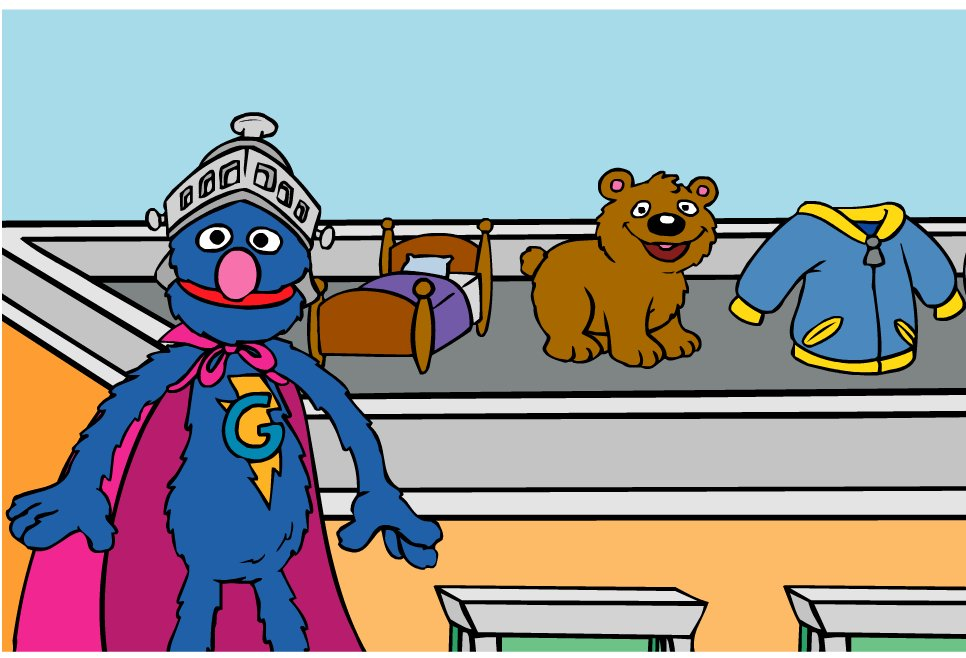 Sesame Street rhyming game