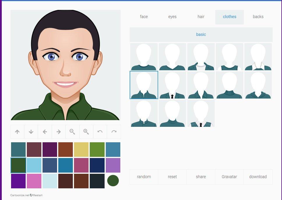Make an avatar